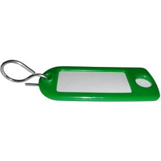 Schlüsselanhänger Grün 100 Stück